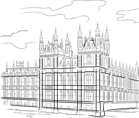 Torre de dibujo en Londres, Reino Unido  Foto de archivo - 5753811