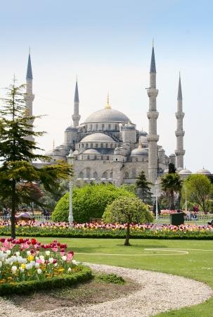 mezquita: La Mezquita azul de Estambul, Turqu�a