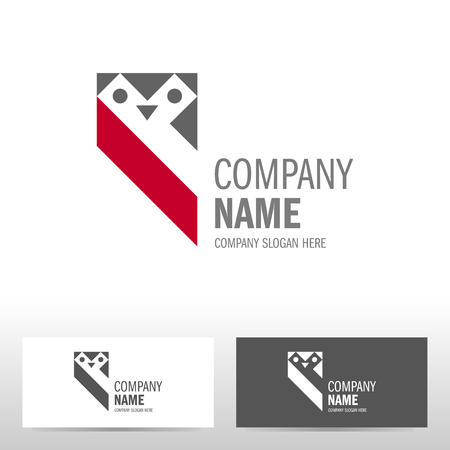Business logo design with owl. Vector illustration Stock Vector - 80110354