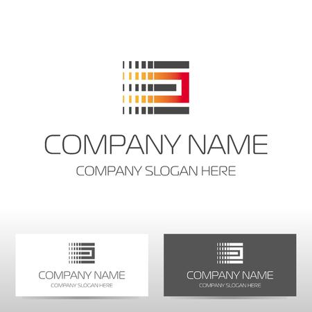 illustration industry: Industry logo design. Vector illustration