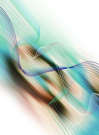Abstract futuristic modern background with lines Stock Photo