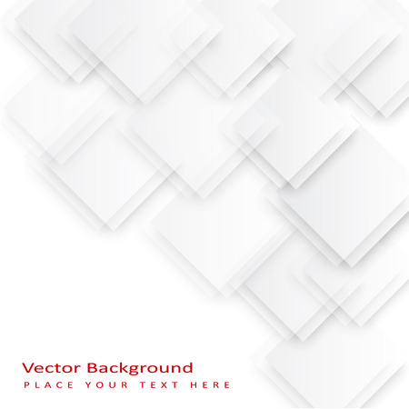 accommodate: Abstract vector squares background. The template is ready to accommodate your text