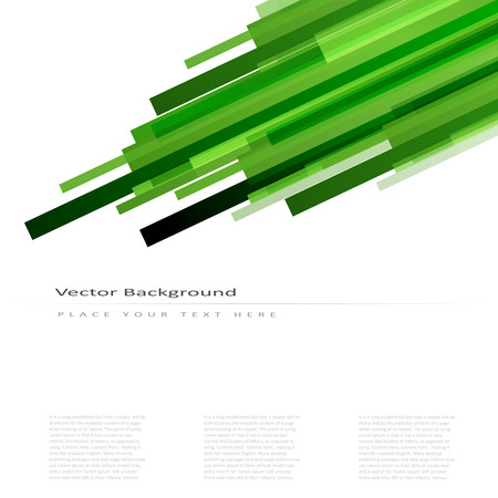 straight lines: Abstract vector background with green straight lines