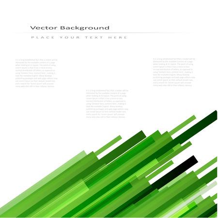 lineas rectas: Vector de fondo abstracto con las l�neas rectas verdes Vectores
