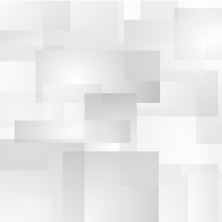 Abstract vector background with white and grey transparent rectangles