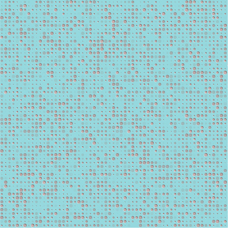 Abstract vector background with grey indented circles Vector