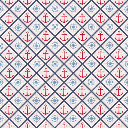 cellule: Seamless pattern with cross lines