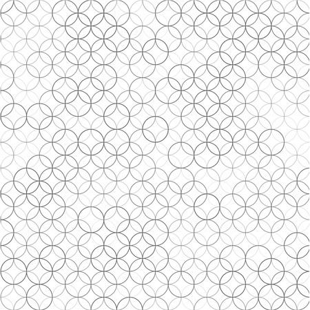 重なる円からパターンと抽象的な背景