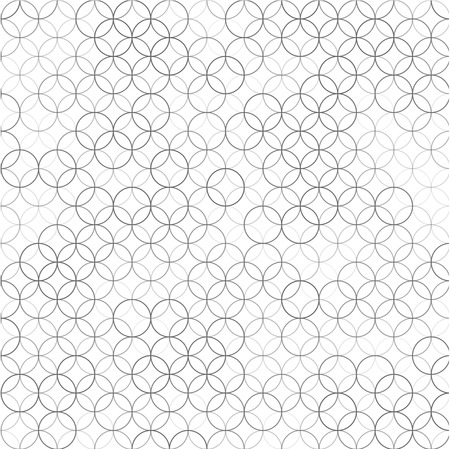 abstract background with pattern of overlapping circles Stock Illustratie