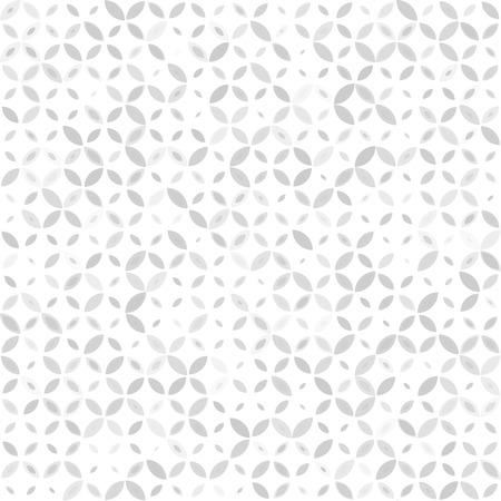 Seamless retro grey, gray pattern with geometric ornament
