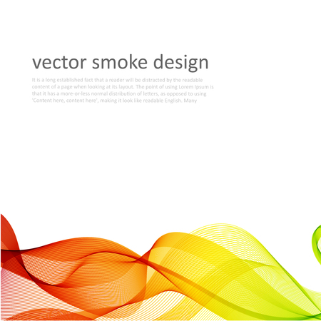 translucent: Abstract vector colorful background with transparent smoke