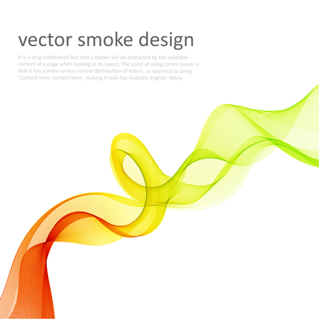 web element: Abstract vector colorful background with transparent smoke