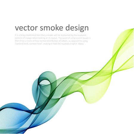Abstrakt vektor färgrik bakgrund med transparent rök