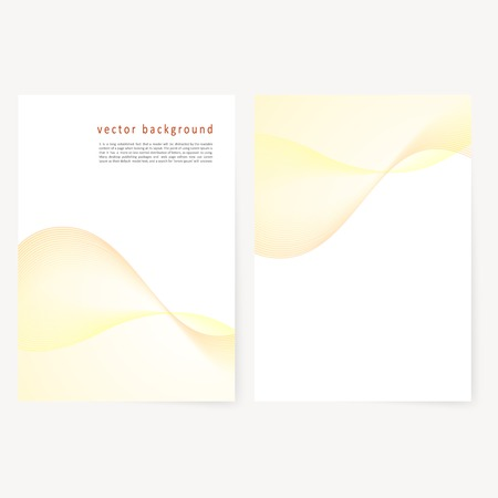 Vector Business Brochure Flyer Template Blank Whith Transparent
