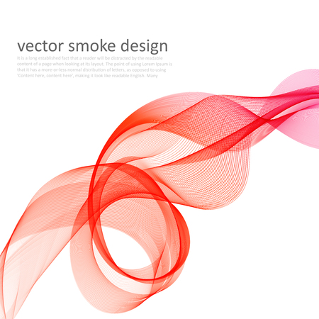 abstract smoke: Abstract colorful background with transparent smoke Illustration