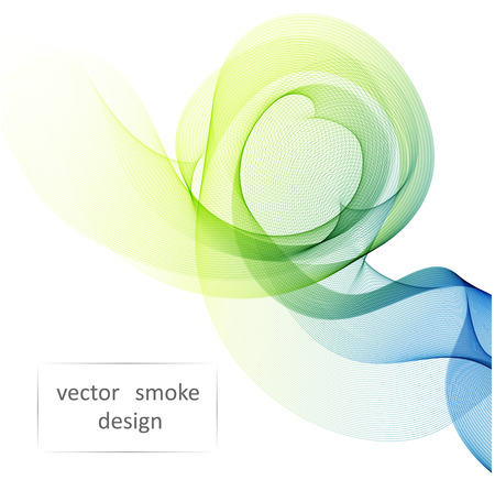 abstract smoke: Abstract vector colorful background with transparent smoke