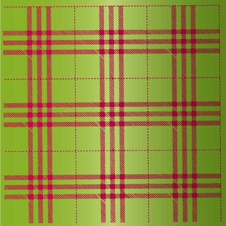 Scottish kilts pattern. Illusztráció