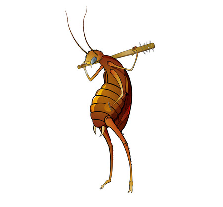 Agressive roach