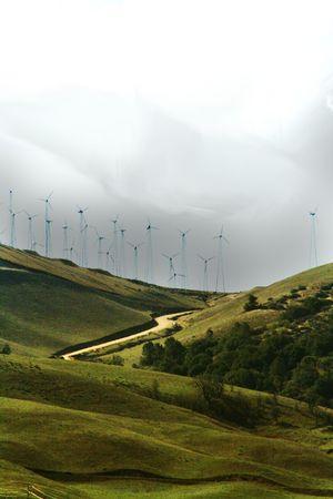 Windmills of Tehatchapi, Ca