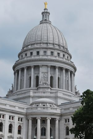 The Capitol Building In Madison, Wisconsin Stock Photo - 4815986