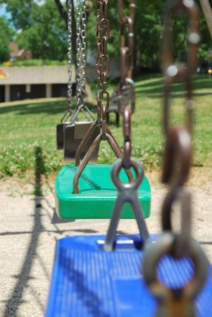 Swing Set Stock Photo