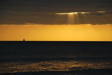 myers: Sunset on Ft. Myers beach