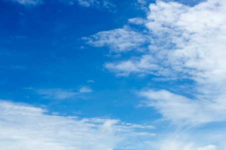 Blue sky with white cloud background3 Stock Photo - 15018674