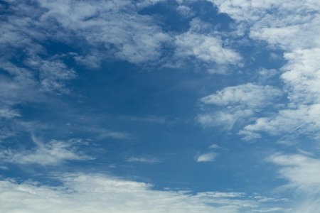 Blue sky with white cloud background2  Stock Photo - 15018675