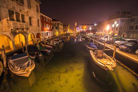 City of Chioggia in Italy, near Venice