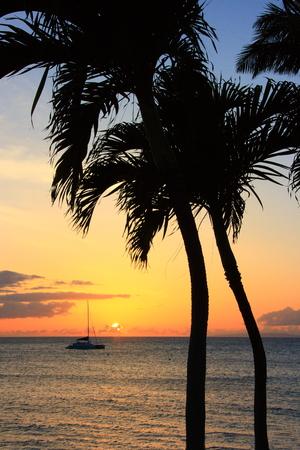 Sunset of Hawaii