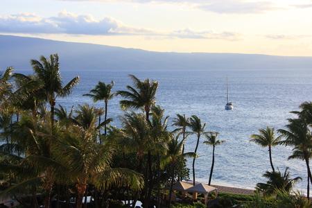 The Island of Maui Stock Photo
