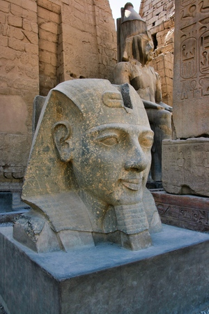 Statue of Ramses II, Luxor Temple, Egypt