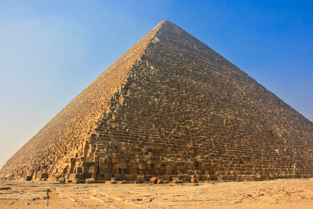 Pyramid of Khufu, Giza, Cairo, Egypt