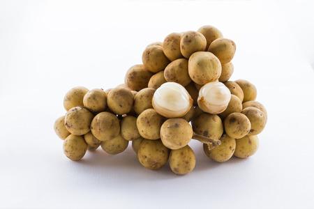 Longkong Thai fruit has sweet mix sour photo