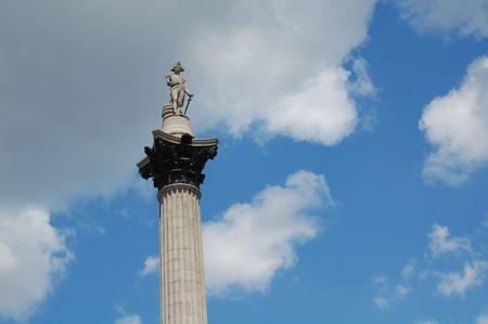 trafalgar: The Nelson Column in Trafalgar Square