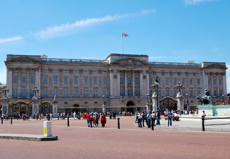 buckingham palace: Buckingham Palace, official residence of the Queen