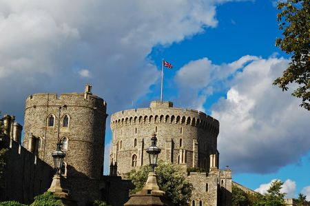 Two towers of Windsor Castle photo