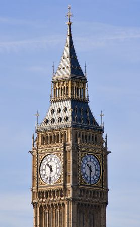 View of the Big Ben Tower in London photo