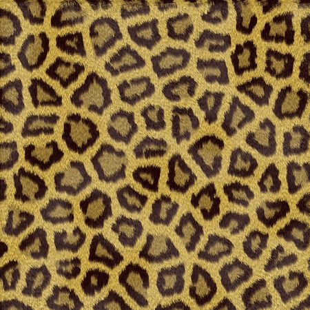 Leopard fur texture in shades of yellow photo