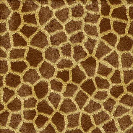 giraffe skin: Giraffe fur texture in shades of yellow and brown