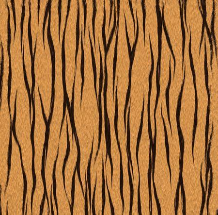Zwarte en gele strepen pels patroon