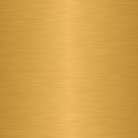 Polished metal texture in golden shades photo