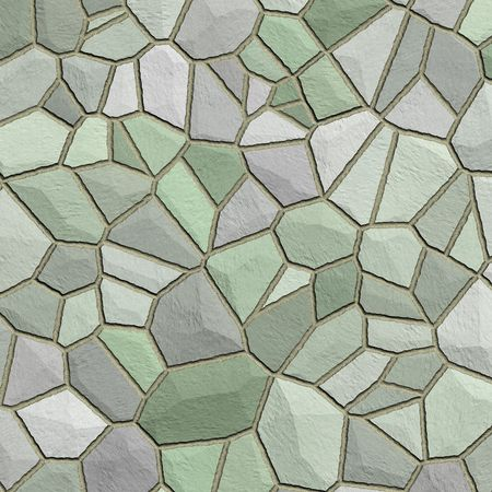 Stones pattern  texture in shades of green Stock Photo - 5765346