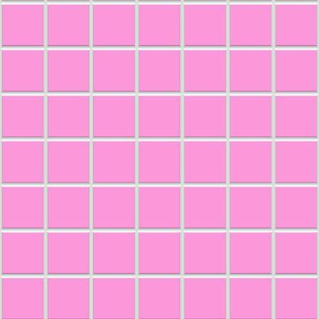 Pink square seamless  ceramic tiles texture photo