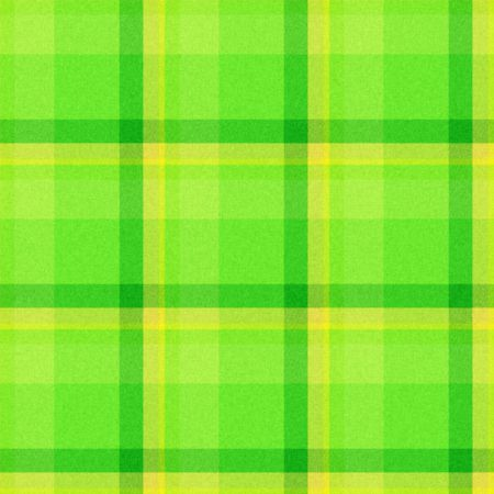 Realistic tartan or plaid texture with visible threads in bright colors photo