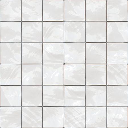 Shiny seamless white tiles texture photo