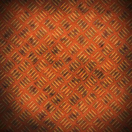 Dark rusty copper panel texture Stock Photo - 6354790