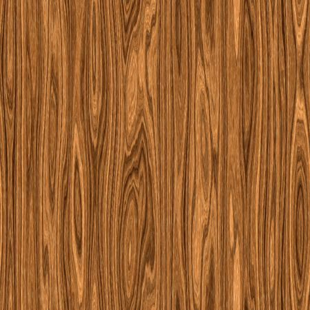 Seamless light brown wood texture with knots photo