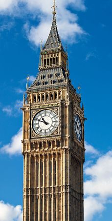 The Big Ben Tower, part of the Houses of Parliament and a symbol of London photo