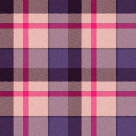 blue velvet: Realistic seamless tartan or plaid  texture with visible threads in bright colors